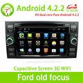 Atacado rádiodecarro gps para android puro 4.2.2 velho ford focus de dvd do carro com gps de navegação! Baratos!