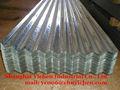 tôles ondulées galvanisées / couleur toiture