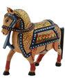 Estatua del caballo, Estatua del caballo de madera, Indian Estatua Caballo