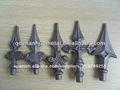 Cerca de acero parte/de hierro la puerta principal de diseño/de hierro forjado