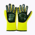 recubiertos de goma de buceo con escafandra guantes guantes a prueba de agua dg09