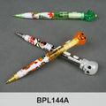 interwell bpl144a luz de dibujos animados lindo de la pluma de halloween decoración