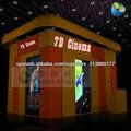 Mobile 7D cine de películas para el entretenimiento de juegos