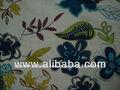 Impreso tejidos de algodón la descarga se imprime, estampados florales,impresiones de la libertad,procian impresiones