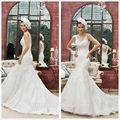 espaguetis 2014 encaje de sirena vestido de novia vestidos de boutique
