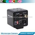 540TVL cámara CCD para microscopio