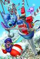 hermosa y viva 3d anime del cartel