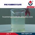 súper plastificante policarboxilato para concreto