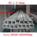 bajo carbono tubo de acero cuadrado de china