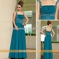 verde de alta calidad vestido de noche vestido de 2014