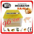 VA-96 controlador de humedad temperatura de la incubadora Huevo grande artificial incubadora pequeño ganso del pato del pollo