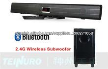 de cine en casa sistema de barra de sonido con la función del bluetooth