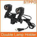 Lámpara E27 Holder flash Umbrella soporte doble