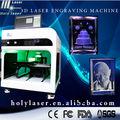 promocional recém 3d laser de vidro e cristal máquina de gravura para o quiosque de shopping center e photo booth