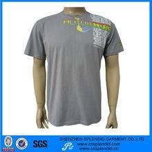 camiseta del algodón para los hombres