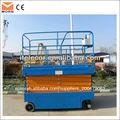 Auto- propulsado escalera hidráulica de elevación
