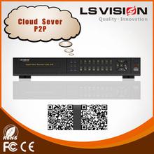 VISION LS dvr del cctv dvr visor de vídeo de 1080p en tiempo real de 8 canales HD SDI DVR