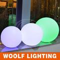 de la batería operada led al aire libre de gran bola de luz