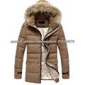 2014 invierno caliente traje de plumon/chaqueta/abrigo para hombres