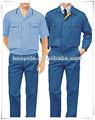 Más barato 2014 t/2ps c camisa y los pantalones para hombre ropa de trabajo uniforme