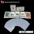 Ambos lados juego de cartas personalizadas, tarjetas personalizadas de juego