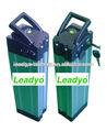 De litio ion de 24v 10ah pescado plata paquete de batería para el e- bicicletas/24v bicicleta eléctrica de la batería