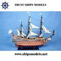 Modelo de velero de madera en venta