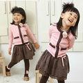 2014 nuevo estilo de la moda vestidos de niña
