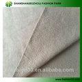 Shanshan 100% paño grueso y suave de algodón/brust tela para el suéter, t camisa