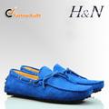 2014 nuevo diseño de cuero calzado casual para hombres