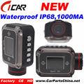 Full hd 1920*1080p, 720p h. 264 ip68 voiture de sport caméra action