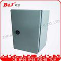 Suministros eléctricos/acero de montaje en pared recinto ip66/caja del panel eléctrico tamaños