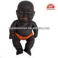 icti de fábrica al por mayor de plástico negro muñecas