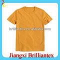 Baratos de seda impresión de la pantalla t camisa, de algodón a granel en blanco t- shirt