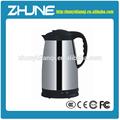 Pequeño aparato electrodoméstico chino té tetera de acero inoxidable 1.5l hervidor eléctrico té acogedor