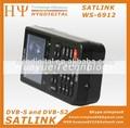 Alta qualidade satlink visor ws-6912 dvb-s2 digital satélite finder medidor ws-6912 em estoque