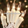 35 Eliminar mini luces de la Navidad / luz de la secuencia en el alambre blanco