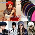 Lsw 100, solide béret de mode pour les femmes linge coloré chapeaux et casquettes pour choisir fabricants béret