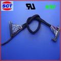 sct cable vga a tv lcd 15 pin conector del mazo de cables