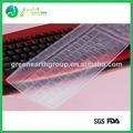 Vente chaude populaire colorful clavier de silicone couvre pour les ordinateurs portables
