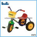 plástico crianças china pedal triciclo
