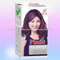 Colorido crema para el cabello profesional saludable