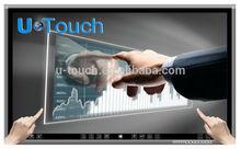 Ultra slim 65 pulgadas intel cpu de alta calidad de pantalla táctil pc todo-en-uno