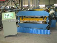 Maquina para fabricar calamina que pueda fabricar ondulada y trapezoidal