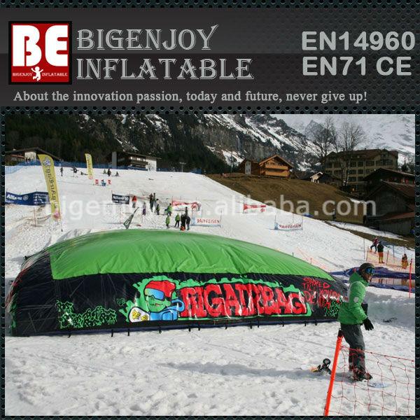 Gran inflable Salto Bolsa de Aire para el esquí