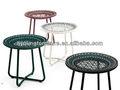 Colorido caliente al aire libre muebles de mimbre mesa de café lg76-md9511