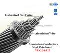 de todos los tamaños conductor de aluminio acsr