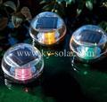 luz flotante solar o bola que nada con el certificado del CE
