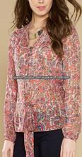 Las mujeres blusa de gasa