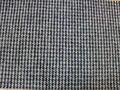 China popular estilo escocés de espina de pescado de tweed tejido de lana, vidrio de ventana de espina de pescado tela de tweed